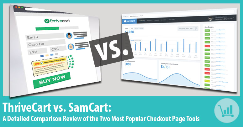 Samcart vs. ThriveCart Review