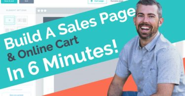 Build A Sales Page and Cart In 6 Minutes with Thrivecart
